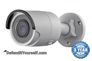 Hikvision OEM 4K / 8 Megapixel Mini Bullet IP CCTV Security Camera - DefendItYourself.com IP Camera