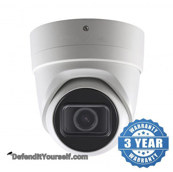 Hikvision OEM 4K / 8 MP Turret 2.8mm-12mm Varifocal IP CCTV Security Camera - DefendItYourself.com IP Camera