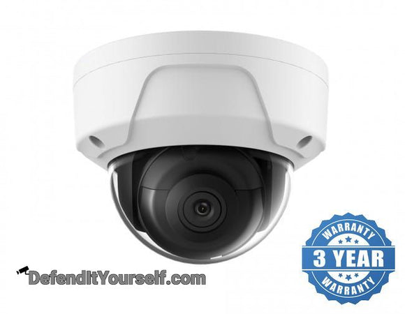 Hikvision OEM 4K / 8 Megapixel Vandal Proof Dome IP CCTV Security Camera - DefendItYourself.com IP Camera