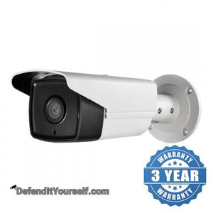 Hikvision OEM 4 Megapixel EXIR Bullet IP CCTV Security Camera - DefendItYourself.com IP Camera