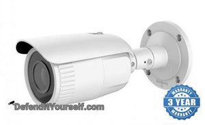 Hikvision OEM 4 Megapixel 2.8mm-12mm Varifocal Bullet IP Security Camera - DefendItYourself.com IP Camera