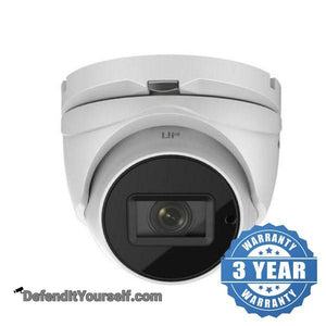 Hikvision OEM 4 Megapixel Varifocal 2.8mm-12mm Turret IP CCTV Security Camera - DefendItYourself.com IP Camera