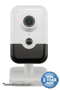 Hikvision OEM 4 Megapixel Interior Wifi Cube IP CCTV Security Camera - DefendItYourself.com IP Camera