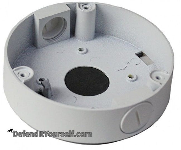 Hikvision OEM Turret Junction Box - DefendItYourself.com Accessories