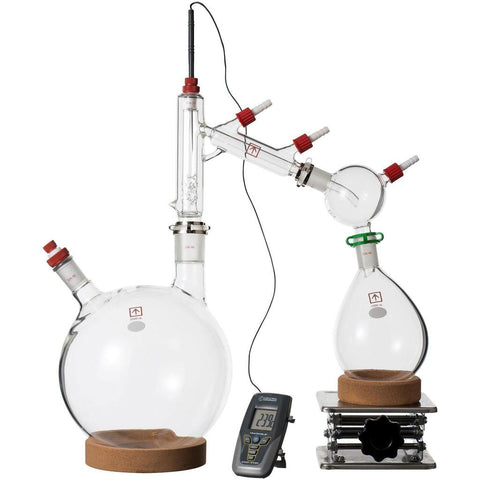Across International 5 Liter Short Path Distillation Kit with Options CLEAR5