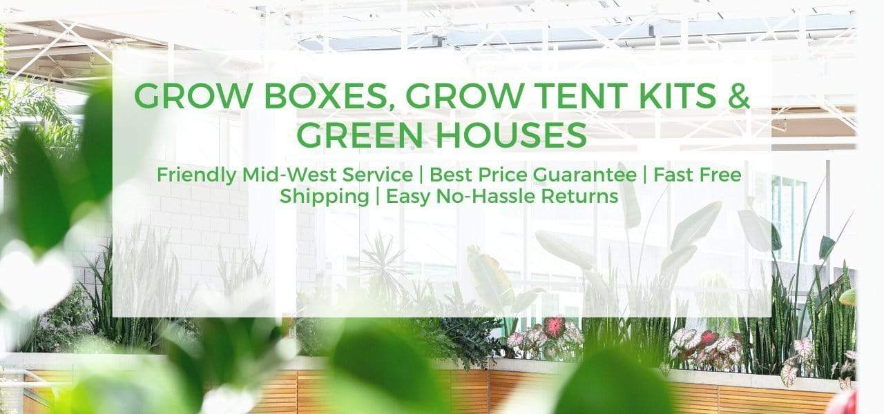 Best Deals on Grow Cabinets, Grow Tent Kits, GreenHouses & More