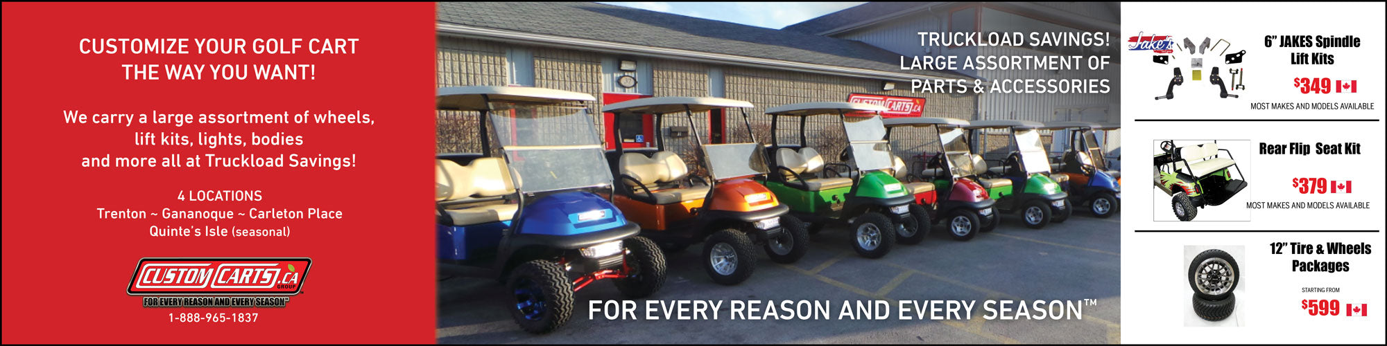 Customcarts ca - Golf Carts and Golf Car Parts Superstore