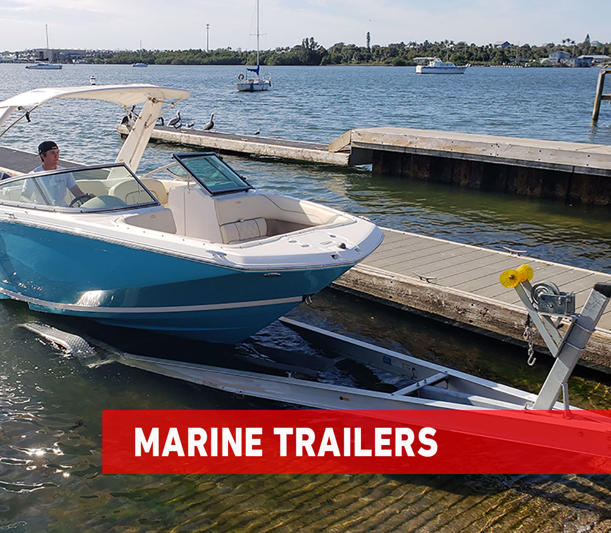 boat and pontoon trailers