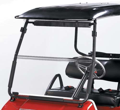 Club Car DS 2000+ Fold Down Acrylic Windshield
