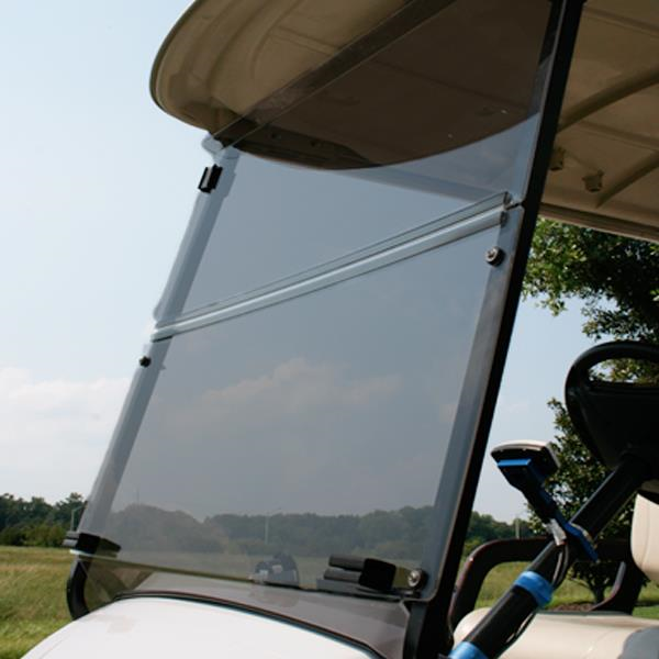 Yamaha G29/Drive Fold Down Acrylic Windshield