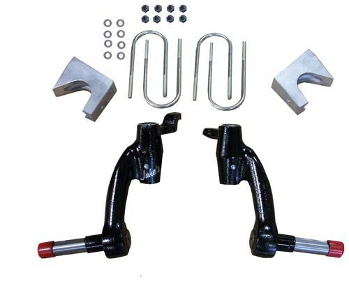"JAKE'S 6"" Spindle Lift Kit for EzGo TXT / Workhorse Gas ( 2008.5-Up)"