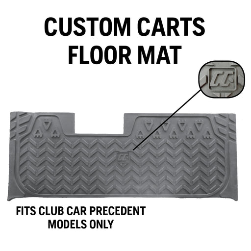 Custom Carts Floor Mat - Club Car Precedent