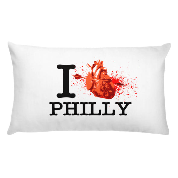I Love Philly Pillow