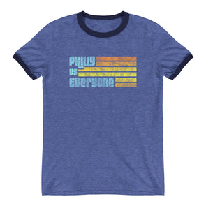 Philly Vs Everyone Ringer T-Shirt