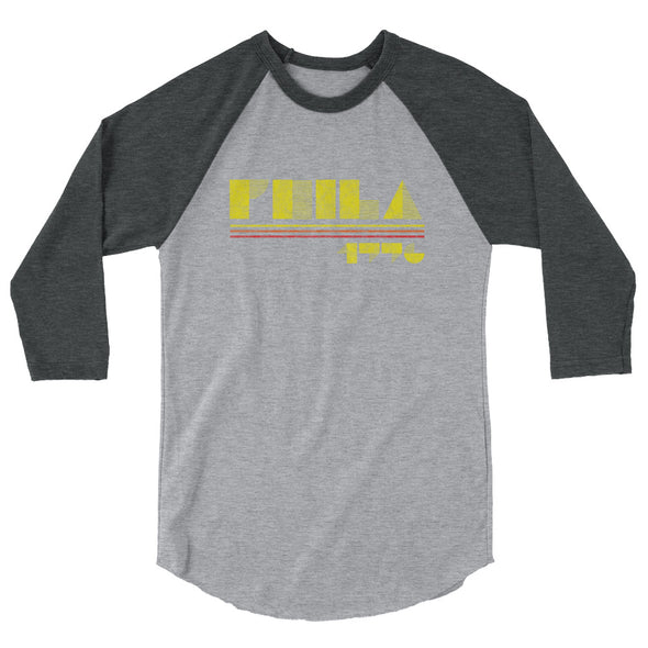Phila 1776 3/4 sleeve raglan shirt