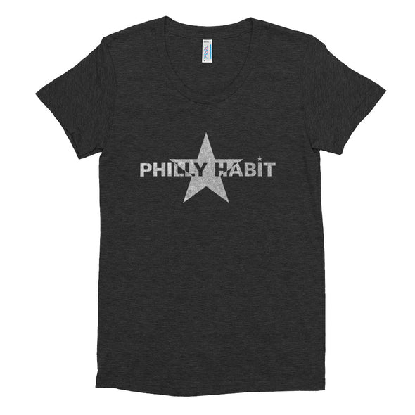 Philly Habit Logo Women's Crew T-shirt
