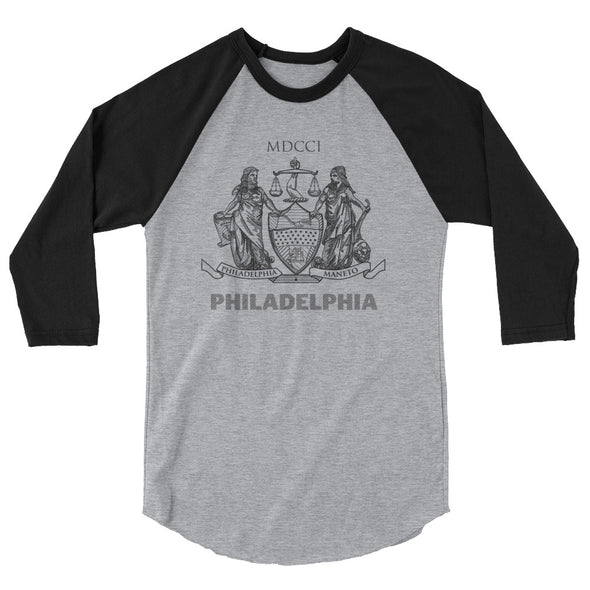 Coat of Arms 3/4 sleeve raglan shirt