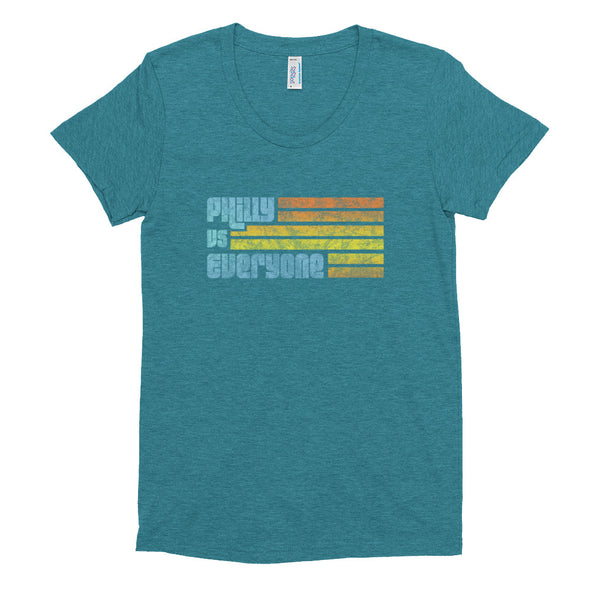 Philly Vs Everyone Women's Crew Neck T-shirt