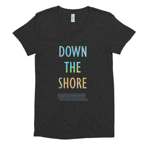 Down The Shore Women's Crew Neck T-shirt