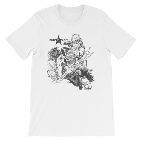 Betsy and Ben T-Shirt B/W