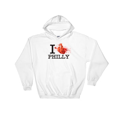I Love Philly Hooded Sweatshirt