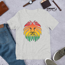 Load image into Gallery viewer, Short-Sleeve Unisex Rasta T-Shirt
