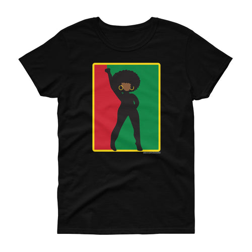 Afro Women's short sleeve t-shirt