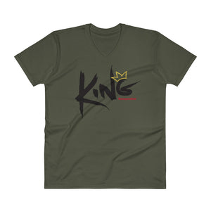 Men's V-Neck KING T-Shirt