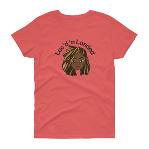 Loc'd n Loaded  Short Sleeve T-Shirt with highlights