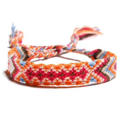 bracelet brésilien orange