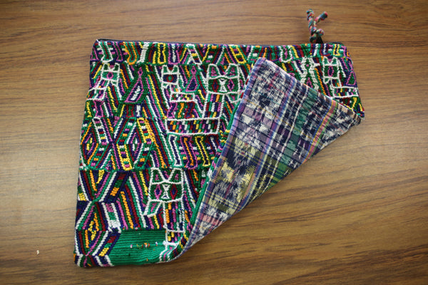 Large Embroidered Pouch