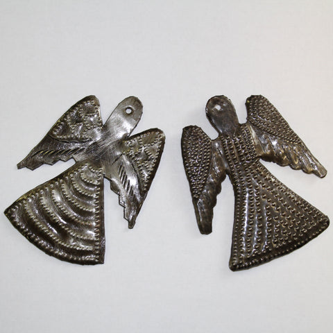 Tin Angels- set of 2