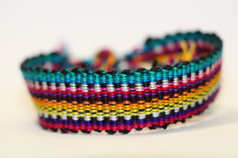 Rockin' Rainbow Friendship Bracelet