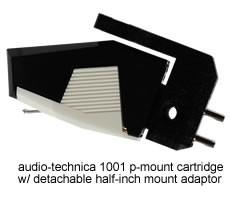 Audio-Technica 1001 phono cartridge (Studio Reference Series)
