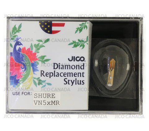 JICO VN5xMR neoSAS/S stylus replacement for Shure V15VxMR cartridge