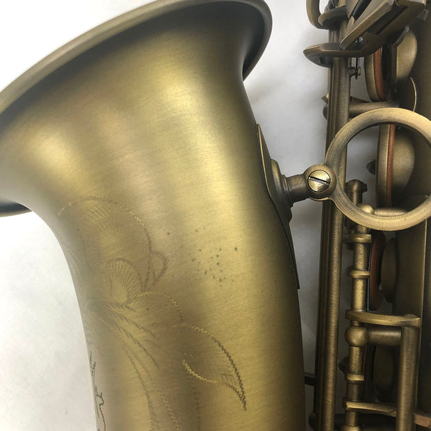 Sax Alto Gold Brushed - Ex-Demo - Lupifaro - RMusik