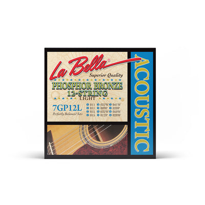 La Bella 7GP 12L - 11-50 Acoustic - La Bella - RMusik