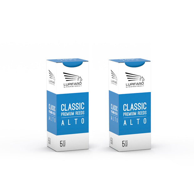 "Alto Reeds - Classic ""Filed Cut"" - Bundle Pack - 10x - Lupifaro - RMusik"