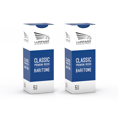 "Baritone Reeds - Classic ""Filed Cut"" - Bundle Pack - 10x - Lupifaro - RMusik"