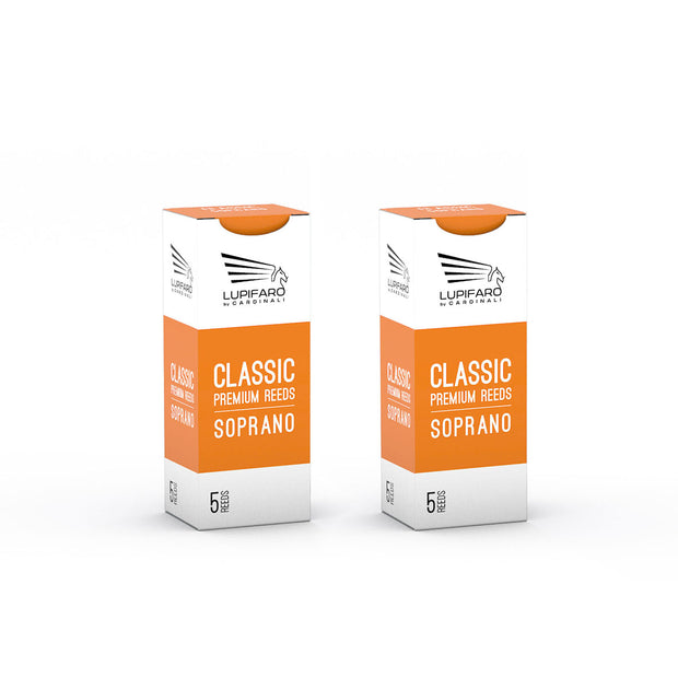 "Soprano Reeds - Classic ""Filed Cut"" - Bundle Pack - 10x - Lupifaro - RMusik"