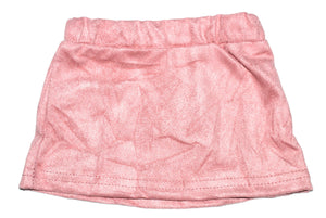 Suede Skirt - Pink