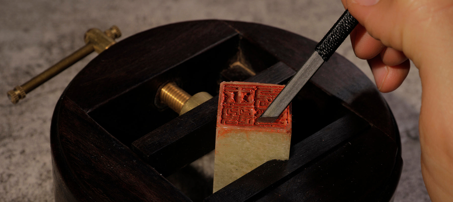 Seal carving Tools and Seal Paste
