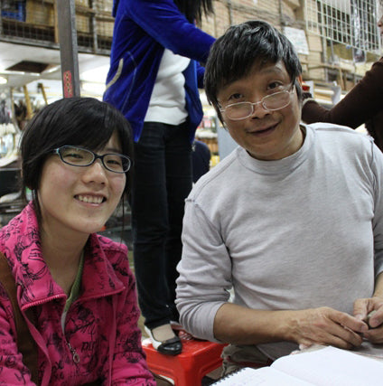 Uncle Liu and Echo and the Carving Atelier