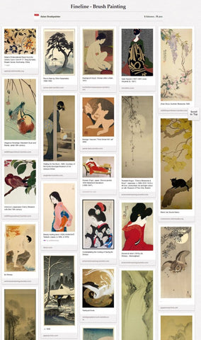 ab pinterest board fineline