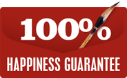 100% Hapiness Guarantee Asian Brush Painter