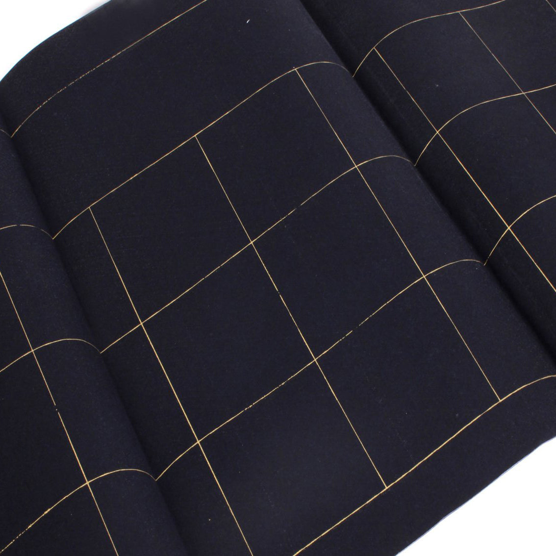"the ink that brings the best effect of the ""Black Knight"" - Black Gold-Grid Decorative Shuen Paper"