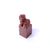 Shoushan seal stone in natural red color for asian artwork