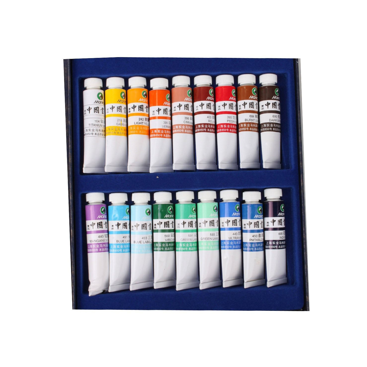 Premium Sumi-e Colors for Calligraphy Writing, Sumi-e and Fineline Painting