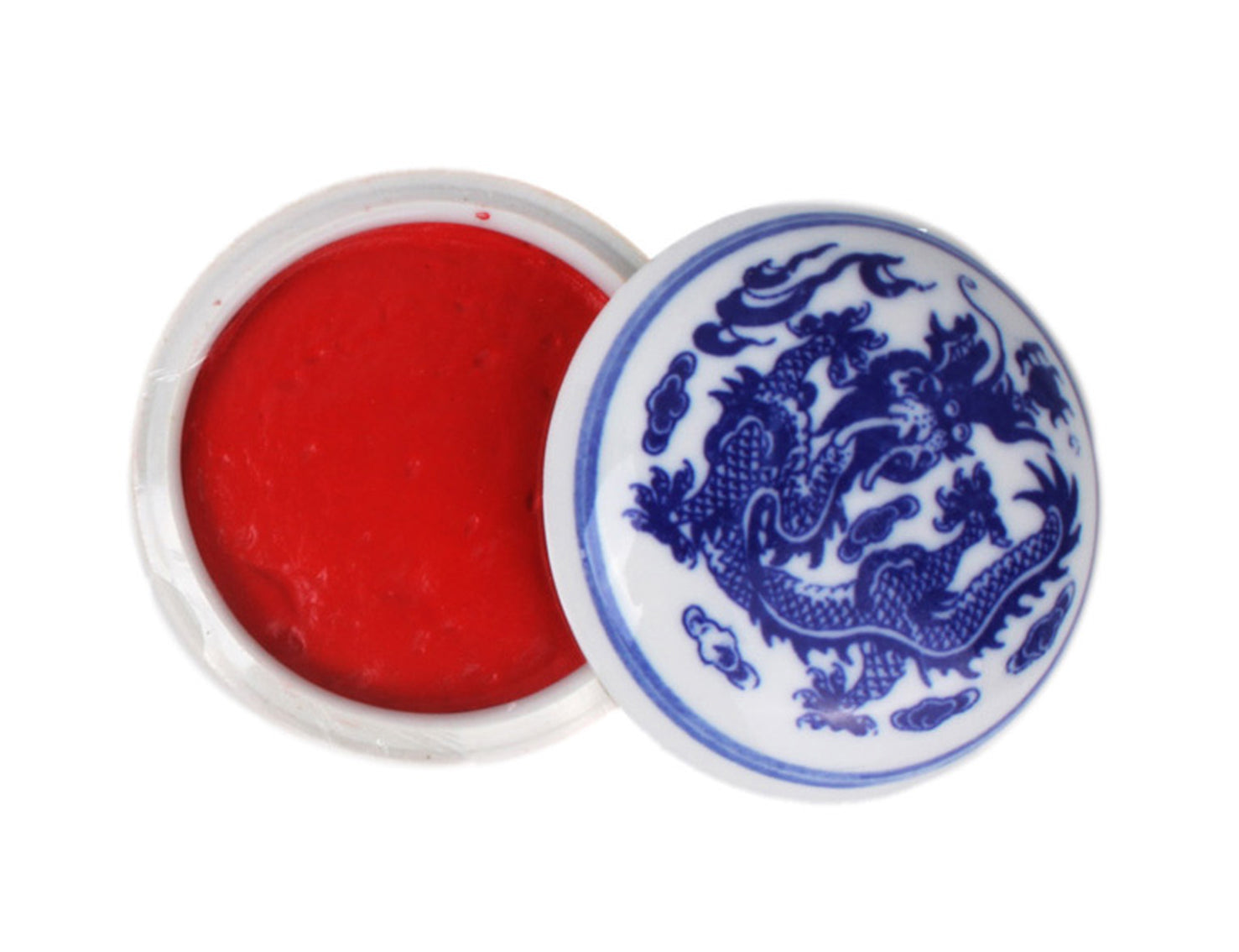 Bright Chinese Seal Paste with Gift Box and Container