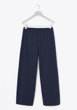 Stretch Pants wide, seven-eighths, summerpure, night